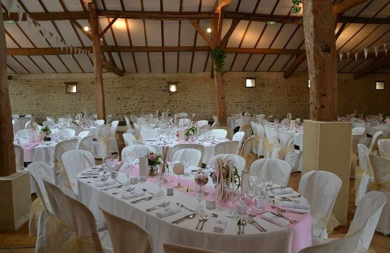 salle décorée pour mariage