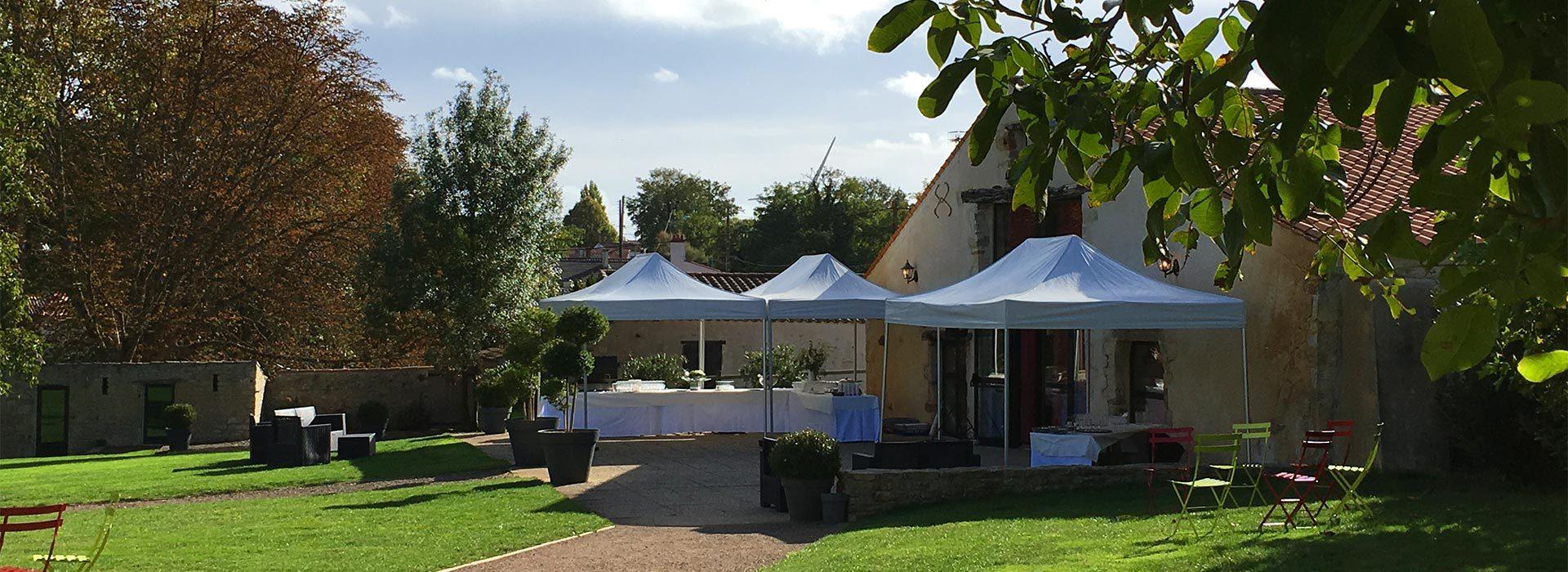 Salle de mariage extérieur